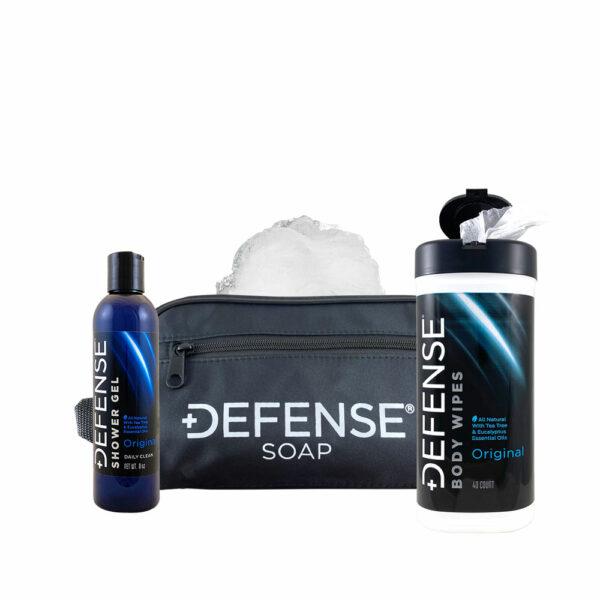 Defense Soap Original Shower Gel Travel Kit